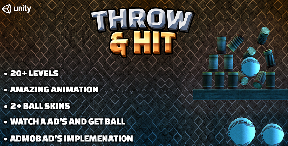 [Free Download] Throw & Hit : Ball & Can Game for Android with AdMob Ad Integration (Nulled) [Latest Version]