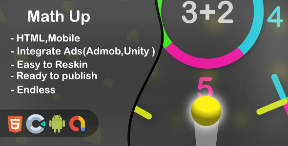 [Free Download] Math Up – HTML5 Game and Mobile (Construct 3) (Nulled) [Latest Version]