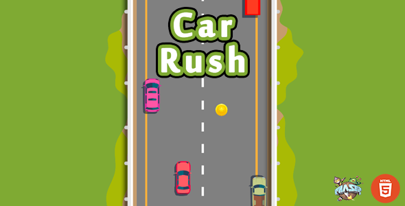 [Free Download] Car Rush – Top Down HTML5 Car Game (Nulled) [Latest Version]