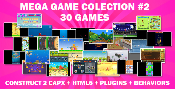 [Free Download] Games Mega Collection (CAPX and HTML5) 30 Games (Nulled) [Latest Version]