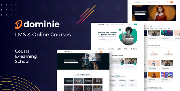 [Free Download] Dominie – Online Education Courses HTML Template (Nulled) [Latest Version]