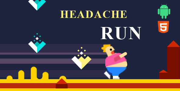 [Free Download] Headache run 2d ultimate runner game (Nulled) [Latest Version]