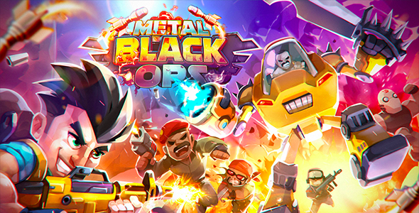 [Free Download] Metal Black OPS (Android + IOS) (Nulled) [Latest Version]