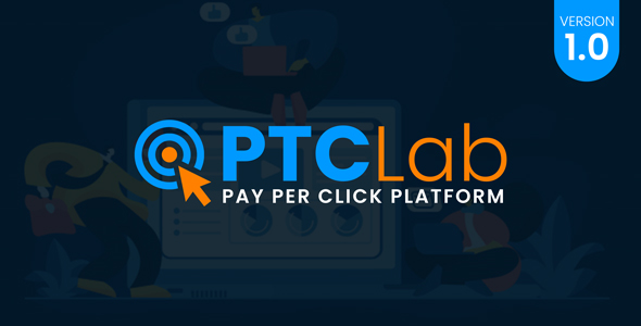 [Free Download] ptcLAB – Pay Per Click Platform (Nulled) [Latest Version]