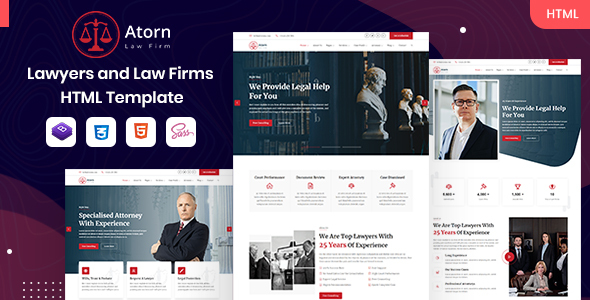 [Free Download] Atorn – Law Firm & Attorney HTML Template (Nulled) [Latest Version]
