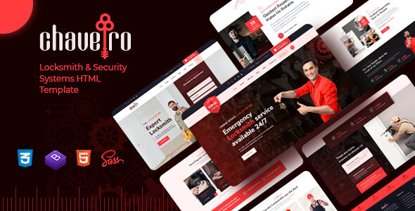 [Free Download] Chaveiro – Locksmith Business HTML5 Template (Nulled) [Latest Version]