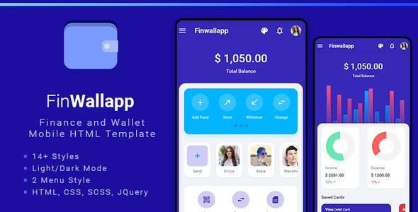[Free Download] Finwallapp Mobile HTML template (Nulled) [Latest Version]