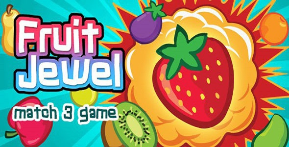 [Free Download] Fruit Jewel | Match 3 Game | Android | Games (Nulled) [Latest Version]