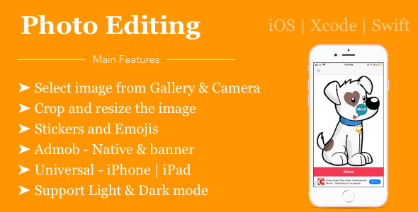 [Free Download] Photo Editor with Admob – Swift 5 (Nulled) [Latest Version]