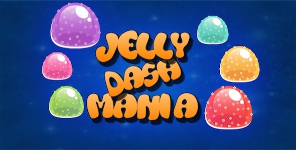 [Free Download] Jelly Dash Mania | Diamond Dash Style Game | Android | Games (Nulled) [Latest Version]