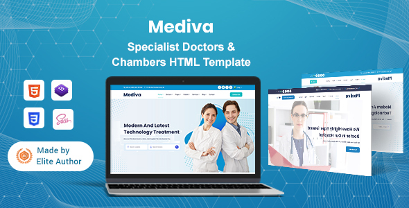 [Free Download] Mediva – Specialist Doctors & Chambers HTML Template (Nulled) [Latest Version]