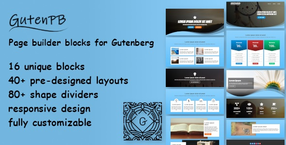 [Free Download] GutenPB – Page builder blocks for Gutenberg (Nulled) [Latest Version]