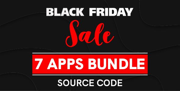 [Free Download] 8 APPS IN ONE | BLACK FRIDAY SALE (Nulled) [Latest Version]
