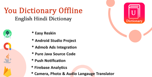 [Free Download] U-Pro dictionary app with All Languages Translator with Admob Ads, Firebase Notification (Nulled) [Latest Version]