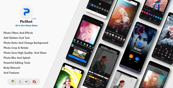 [Free Download] PicShot – Photo Editor – All In One Photo Editor (Nulled) [Latest Version]