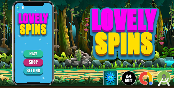 [Free Download] Lovely Spins Android Game (Nulled) [Latest Version]
