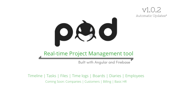 [Free Download] POD – Angular Project Management Software (Nulled) [Latest Version]