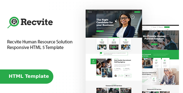 [Free Download] Recvite – Staffing Agency HTML Template (Nulled) [Latest Version]