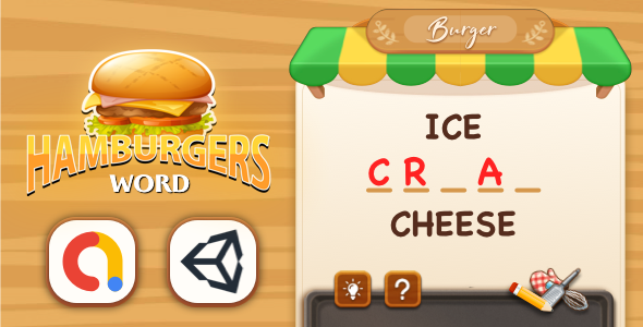 [Free Download] Hamburger Word – Unity Complete Project with Editor (Nulled) [Latest Version]