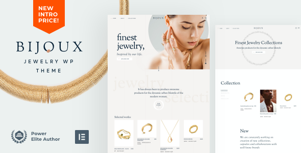 [Free Download] Bijoux – Handmade Jewelry Shop (Nulled) [Latest Version]