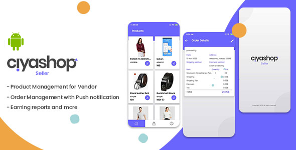 [Free Download] Ciyashop Seller Native Android App for WCFM,Dokan and WCMP (Nulled) [Latest Version]