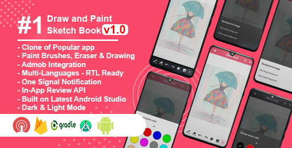 [Free Download] Sketch Book Clone – Draw, Sketch & Paint (Nulled) [Latest Version]