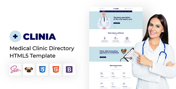 [Free Download] Clinia – Medical Clinic Directory HTML5 Template (Nulled) [Latest Version]