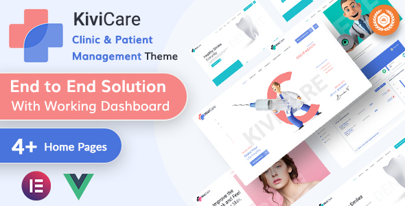 [Free Download] KiviCare – Medical & Clinic Management WordPressTheme (Nulled) [Latest Version]