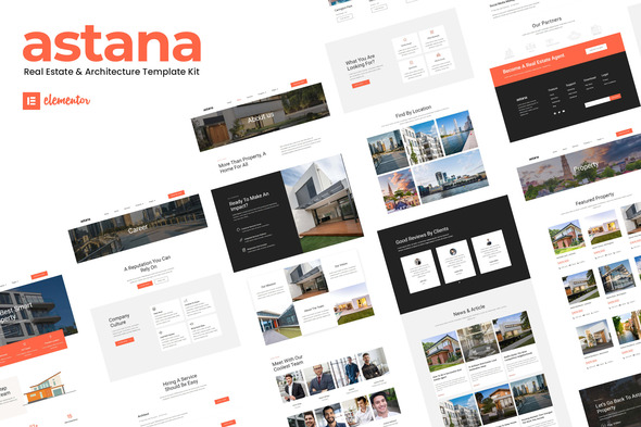 [Free Download] Astana – Real Estate & Architecture Elementor Template Kit (Nulled) [Latest Version]