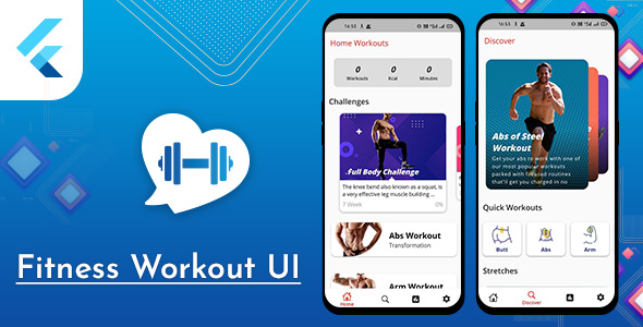 [Free Download] Flutter Fitness Workout UI (Nulled) [Latest Version]