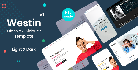 [Free Download] Westin – Bootstrap 4 Personal, portfolio and resume template + RTL (Nulled) [Latest Version]