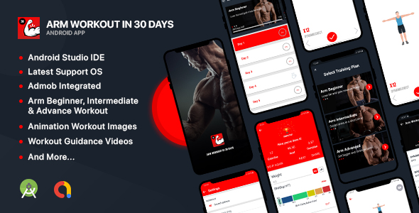 [Free Download] Arm Workout – Android Native App (Nulled) [Latest Version]