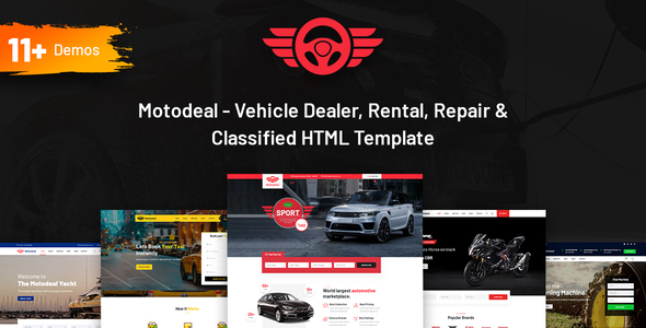[Free Download] Motodeal – Car Dealer & Classified HTML5 Template (Nulled) [Latest Version]