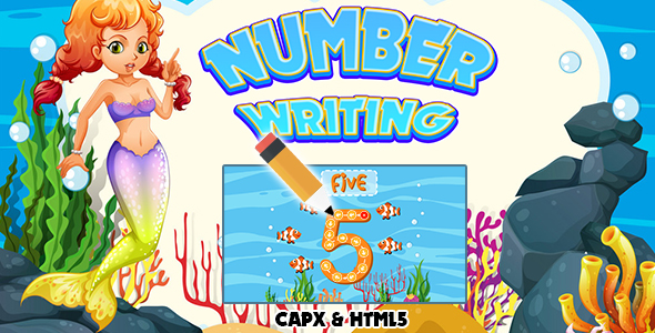 [Free Download] Number Writing (CAPX and HTML5) Kids Game (Nulled) [Latest Version]