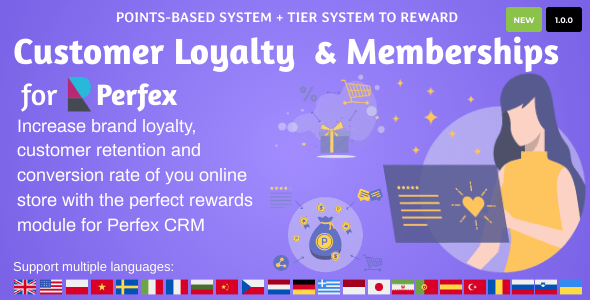 [Free Download] Customer Loyalty and Memberships for Perfex CRM (Nulled) [Latest Version]