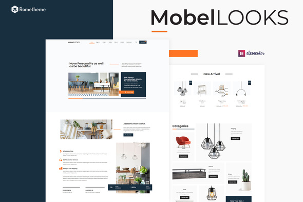 [Free Download] Mobel Looks – Furniture Store WooCommerce Elementor Template Kit (Nulled) [Latest Version]