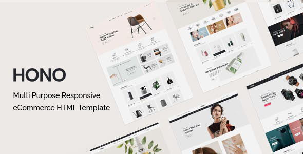[Free Download] Hono – Multipurpose eCommerce HTML Template (Nulled) [Latest Version]