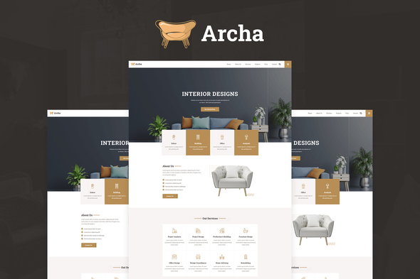 [Free Download] Archa – Interior Design & Architecture Elementor Template Kit (Nulled) [Latest Version]