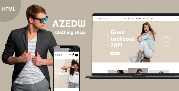 [Free Download] Azewd – Clothing Shop HTML Template (Nulled) [Latest Version]