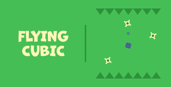 [Free Download] Flying Cubic   HTML5   CONSTRUCT 3 (Nulled) [Latest Version]