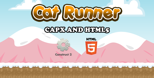 [Free Download] Cat Runner – Html5 Game (Nulled) [Latest Version]