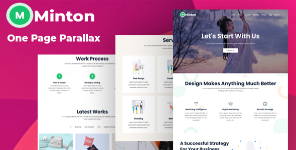 [Free Download] Minton – One Page Parallax Template (Nulled) [Latest Version]