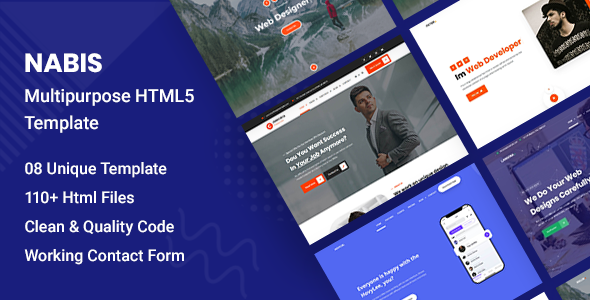 [Free Download] Nabis – Multipurpose HTML5 Template (Nulled) [Latest Version]