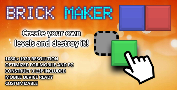 [Free Download] Brick Maker – HTML 5 Game (Nulled) [Latest Version]