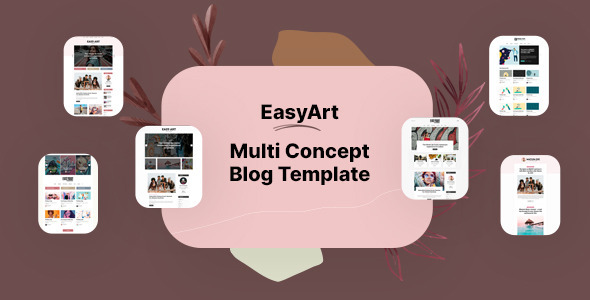 [Free Download] Easyart – Multiconcept Blog HTML Template (Nulled) [Latest Version]