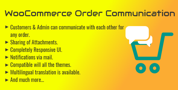 [Free Download] WooCommerce Order Communication | Customer and Admin Conversation (Nulled) [Latest Version]