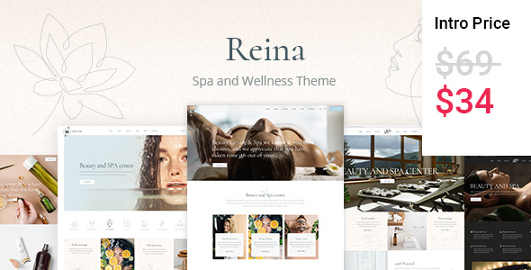 [Free Download] Reina – Spa and Wellness Theme (Nulled) [Latest Version]