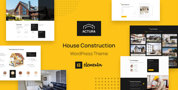 [Free Download] Actura – Construction WordPress theme (Nulled) [Latest Version]
