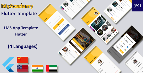 [Free Download] Flutter LMS App Template | Course App Template Flutter | Udemy Clone Flutter | Multi Language (Nulled) [Latest Version]