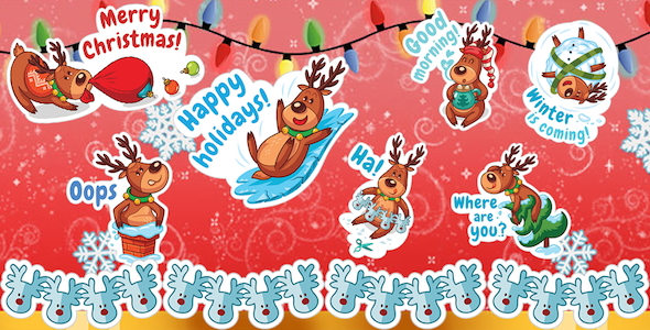[Free Download] Whatsap Sticker – Christmas/New Year WASticker (Nulled) [Latest Version]